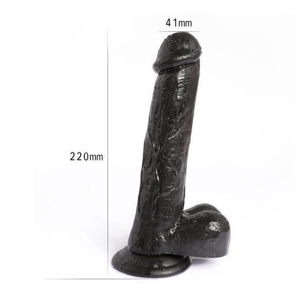 sextoy dildo vibrator mastubator flashlight anaal vaginaal kutje anus zuignap zwart