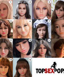 Extra los hoofd voor je Topdoll sex doll sexpop